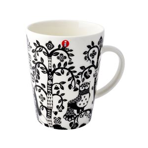 iittala(イッタラ) II500694 Taika Black Mug 400ml タイカ マグカップ コーヒーカップ ≪北欧食器≫ - 拡大画像
