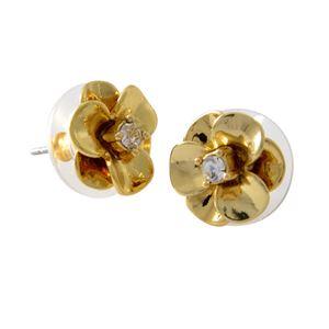 kate Spade (ケイトスペード) WBRUE243-711 Gold フラワーモチーフ スタッド ピアス Shine On Flower Studs