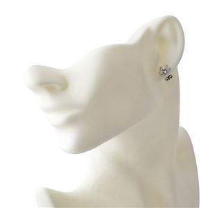 MARC JACOBS (マークジェイコブス) M0009237-118 Cream/Antique Silver ロゴ パール スター 星モチーフ スタッド ピアス Charms Flat Pearl Star Studs