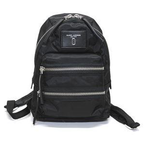 MARC JACOBS (マークジェイコブス) M0012702-001 Black ダブルJロゴ ナイロン ミニ バックパック リュックサック Nylon Biker Mini Backpack - 拡大画像