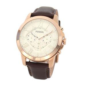 FOSSIL (フォッシル) FS4991 クロノグラフ メンズ腕時計 - 拡大画像