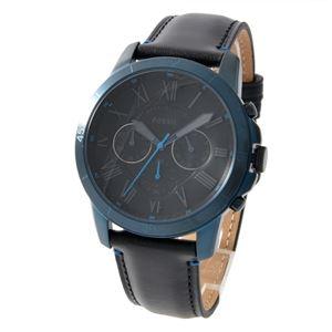 FOSSIL (フォッシル) FS5342 グラント メンズ 腕時計 - 拡大画像