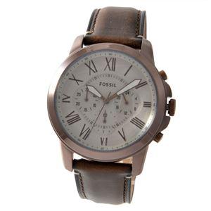 FOSSIL (フォッシル) FS5344 グラント メンズ 腕時計 - 拡大画像