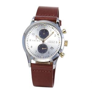 TRIWA (トリワ) LCST115.CL010312 Lansen Chrono (ランセン クロノ) メンズ 腕時計(女子にも人気) - 拡大画像