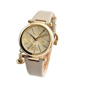 Vivienne Westwood (ヴィヴィアンウエストウッド) VV006GDCM レディース 腕時計 - 拡大画像