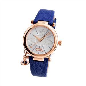 Vivienne Westwood (ヴィヴィアンウエストウッド) VV006RSBL レディース 腕時計 - 拡大画像