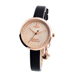 Vivienne Westwood (ヴィヴィアンウエストウッド) VV139RSBK レディース 腕時計 - 拡大画像