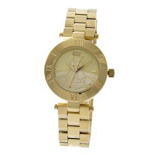 Vivienne Westwood (ヴィヴィアンウエストウッド) VV092CPGD ウエストボーン レディース 腕時計 - 拡大画像