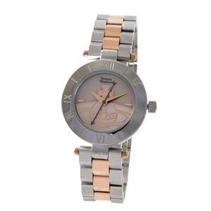 Vivienne Westwood (ヴィヴィアンウエストウッド) VV092SLTT ウエストボーン レディース 腕時計 - 拡大画像