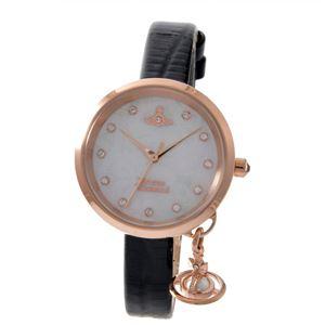 Vivienne Westwood (ヴィヴィアンウエストウッド) VV139WHBK レディース 腕時計 - 拡大画像