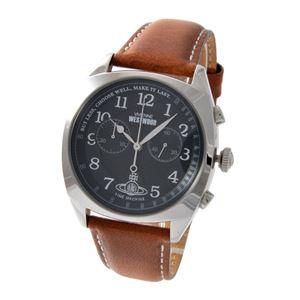 Vivienne Westwood (ヴィヴィアンウエストウッド) VV176BKTN メンズ 腕時計 - 拡大画像
