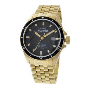 Vivienne Westwood (ヴィヴィアンウエストウッド) VV181BKGD メンズ 腕時計 - 拡大画像