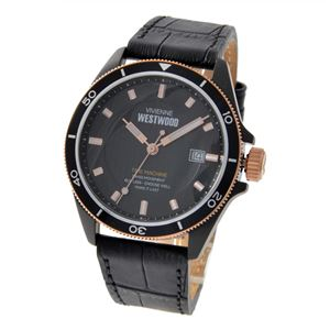 Vivienne Westwood (ヴィヴィアンウエストウッド) VV181RSBK メンズ 腕時計 - 拡大画像
