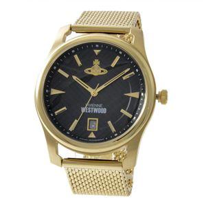 Vivienne Westwood (ヴィヴィアンウエストウッド) VV185BKGD メンズ 腕時計 - 拡大画像
