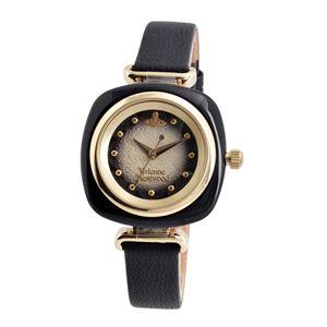 Vivienne Westwood (ヴィヴィアンウエストウッド) VV141BKBK BECKTON ベックトン レディース 腕時計 - 拡大画像
