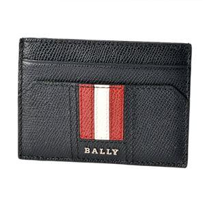 BALLY(バリー ) TACLIPO.LT 10 6218037 バリーストライプ マネークリップ付 カードケース 名刺入れ - 拡大画像