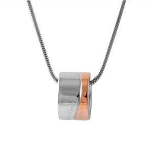 Calvin Klein(カルバンクライン) KJ06PN200100 2トーン ネックレス ペンダント HOOK BICO - 拡大画像