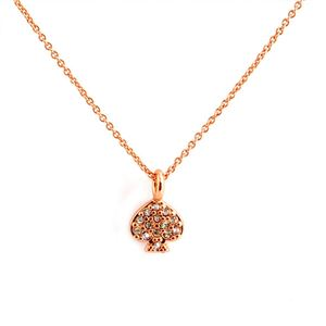 Kate Spade(ケイトスペード) WBRUC073-704 Clear/Rose Gold スペード パヴェ ネックレス/ペンダント Signature Spade Spade Necklace