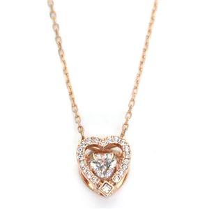 SWAROVSKI(スワロフスキー) 5284188 ダンシングクリスタル クリスタルパヴェ ハート ネックレス ペンダント Sparkling Dance Heart