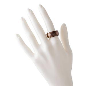 DIESEL(ディーゼル) DX1097040/11.5 ロゴ メンズ リング 指輪 11.5号 (日本サイズ24号相当)