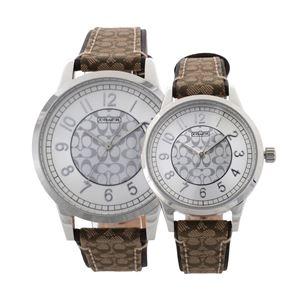 COACH(コーチ) 14000042 ニュー クラシック シグネチャー ペアウォッチ メンズ・レディース 腕時計 - 拡大画像