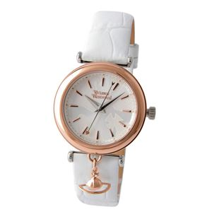 Vivienne Westwood(ヴィヴィアンウエストウッド) VV108RSWH トラファルガー レディース 腕時計 - 拡大画像