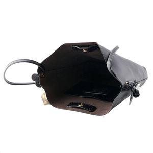 COACH (コーチ) F58661 IMLON アウトレット ダービー レザー ショルダーバッグ ブラック