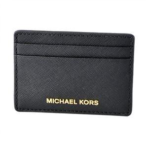 MICHAEL KORS (マイケルコース) 32S4GTVD1L 001 BLACK (ブラック)カードケース JET SET TRAVEL