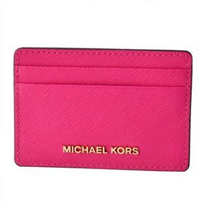 MICHAEL KORS (マイケルコース) 32S4GTVD1L 564 ULTRA PINK (ウルトラピンク)カードケース JET SET TRAVEL