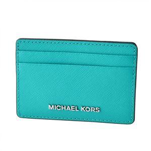 MICHAEL KORS (マイケルコース) 32S4STVD1L 439 TILE BLUE(テイルブルー) カードケース JET SET TRAVEL