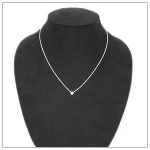 Tiffany (ティファニー) ダイヤモンド バイザヤード ペンダント ネックレス 0.07ct 16in 27465846