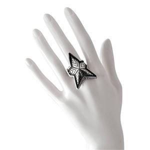CODY SANDERSON(コディサンダーソン)C2-01-001-8.5 ディープスター リング 指輪 US8.5 (日本サイズ17号相当) Depp Star Ring
