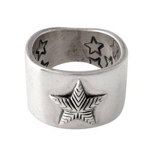 CODY SANDERSON(コディサンダーソン)C2-01-011-9.5 プレーンスター リング 指輪 US9.5 (日本サイズ19号相当) Plain star ring 0.5in