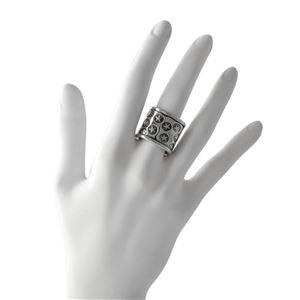 CODY SANDERSON(コディサンダーソン)C2-01-012-7.75 スーパースター トランプ ワイドリング 指輪 US7.5 (日本サイズ15号相当) Super star tramp wide ring 0.75in