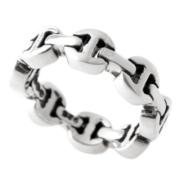 HOORSENBUHS(ホーセンブース)HB002/ 9 トライリンク リング 指輪 US9 (日本サイズ18号相当) DAME TRI LINK