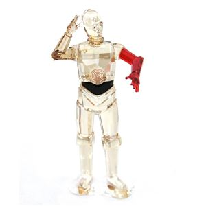 SWAROVSKI(スワロフスキー)5290214 ディズニー スターウォーズ 「C-3PO」 クリスタル フィギュア 置物 Disney Star Wars