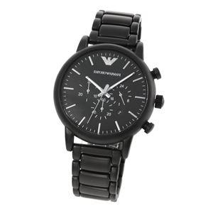 EMPORIO ARMANI(エンポリオ・アルマーニ)AR1895 クロノグラフ メンズ腕時計 - 拡大画像