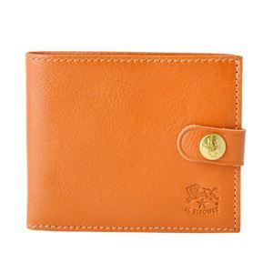 IL BISONTE(イルビゾンテ) C1007 145 CARAMEL 二つ折り財布 コンパクトウォレット - 拡大画像