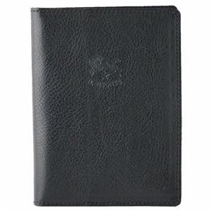 IL BISONTE(イルビゾンテ) C1014 153 Black パスポートケース レディース ユニセックス - 拡大画像