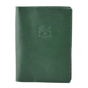 IL BISONTE(イルビゾンテ) C1014 293 Green パスポートケース レディース ユニセックス - 拡大画像