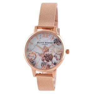 OLIVIA BURTON(オリビアバートン) OB16CS06 マーブルフローラル レディース 腕時計 - 拡大画像