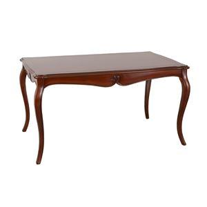 ヴァーサ ダイニングテーブル140(W140.5×D83.5×H75cm) ブラウン 【組立品】 - 拡大画像