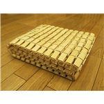 天然のひんやり竹シーツ 『楽快竹』 ナチュラル 120×176cm(軽量タイプ)