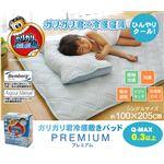 冷感 敷パッド 洗える 旭化成 ベンベルグ使用 『ガリガリ君 プレミアム』 シングル 100×205cm