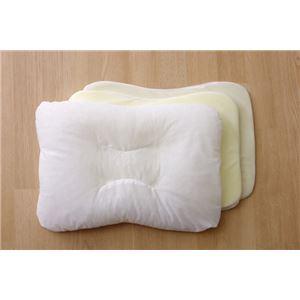 枕 ピロー 洗える パイプ 『抗菌・消臭枕(中材=パイプ)』約38×56cm - 拡大画像