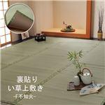 フリーカット い草 上敷き カーペット 『F不知火』 江戸間1畳(約88×176cm)(裏:ウレタン張り)