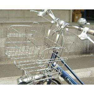折りたたみ自転車用フロントバスケット SOT-20(ステンレス) - 拡大画像