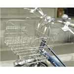 折りたたみ自転車用フロントバスケット SOT-20(ステンレス)