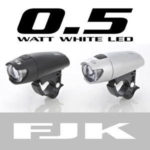 LEDサイクルライト(0.5Wタイプ) FJK-180BK / ブラック - 拡大画像