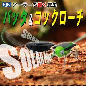 ソーラーで動く昆虫「コックローチ」/「バッタ」 コックローチ - 拡大画像
